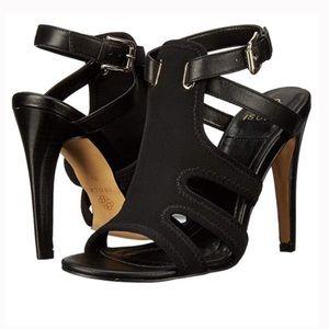 Isola - Benita Strappy Black Heeled Sandals Heels